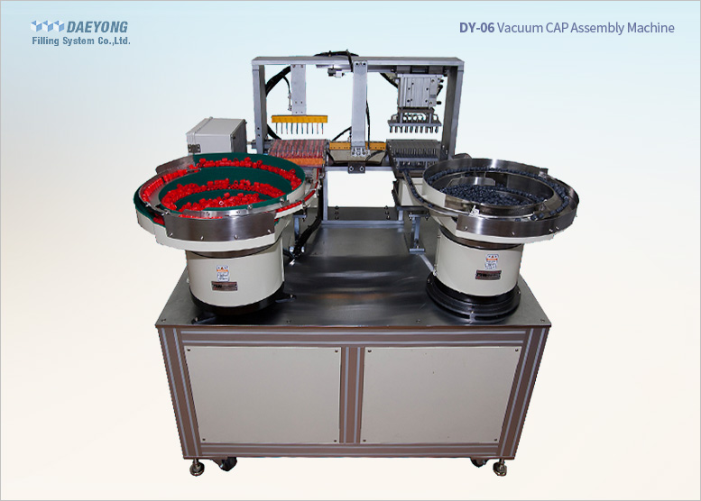 Vacuum Cap assembly machine